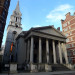 St George's Church, Bloomsbury, site of Emily Wilding Davison's memorial service. Photo by Mark Hogan from wikicommons