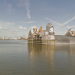 Sail throught the Thames Barrier