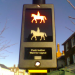 Horse crossing in Wimbledon by Ed.ward's.