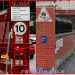 Only Fools and Horses, 1991, on Spur Road Waterloo, and a comparison shot in 2013.