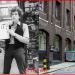 Bob Dylan filming Subterranean Homesick Blues round the back of the Savoy. 1965 and 2013.