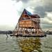 Makoko floating school - Designed by NLÉ, Makoko Community Building Team Photo by NLÉ