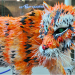 Recyled Tiger photographed by Andrew Smith