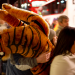 Tiger in traffic by Susanna