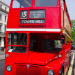 Our heritage bus ride from St Paul's to Trafalgar Square. Photo: McTumshie