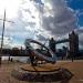 Sun dial, St Katharine's Docks by Time Traveller