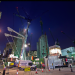 Crane frenzy by ChrisLondon