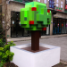 Pixel tree, photo taken in 2013 by Michael Reeve