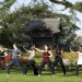 Relax with free Tai Chi classes in the gardens