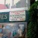 A back walk of Kensington, the street sign shadowed by a mural. Image: HoosierSands