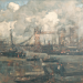 Frank William Brangwyn, the Tower Bridge, around 1905.