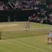 Court 3 with Martina Navratilova and Pam Shriver at Wimbledon, Image by Tiffany Pritchard