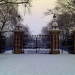 Victoria Park in East London in the snow by Conor Cotter