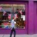 Purple shop in Soho. Photo taken back in 2012, by Fabio Lugaro