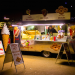 Donuts after dark on Southbank, by Michael Goldrei