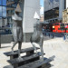 Unmistakably the work of Lynn Chadwick, this piece lurks on the corner of Bishopsgate and Wormwood Street.
