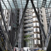 Looking south, towards Richard Rogers' earlier Lloyds Building.