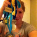 Mamfer and her medals