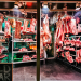 Butcher's shop window, by Sean Batten.