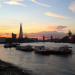Looking to London from Rotherhithe, by Andy Worthington