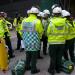 Ambulance staff plan their tactics