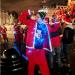 A light up Santa in Trafalgar Square by Tyla'75