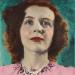 Eugene Von Bruenchenhein, Untitled (Green Background) (1940s) © 2013 Lewis B. Greenblatt, all rights reserved. Courtesy Lewis and Jean Greenblatt