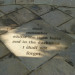 Paving stone at the entrance of Camberwell Cemetery, by helenoftheways on Flickr
