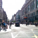 Looking along Oxford Street towards Tyburn, the final stretch in the journey.