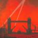 Charles Pears - Blitz. Our London Docks, 1940.